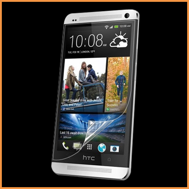 Free shipping 10X Crystal Clear Screen Protector Guard For HTC One T-Mobile M7 Tmobile(China (Mainland))