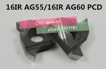 Buy Free 2PCS 16IR AG55/16IR AG60 PCD Inserts, CNC PCD diamond inserts Lathe Tools SNR16 Turning Tools for $22.05 in AliExpress store