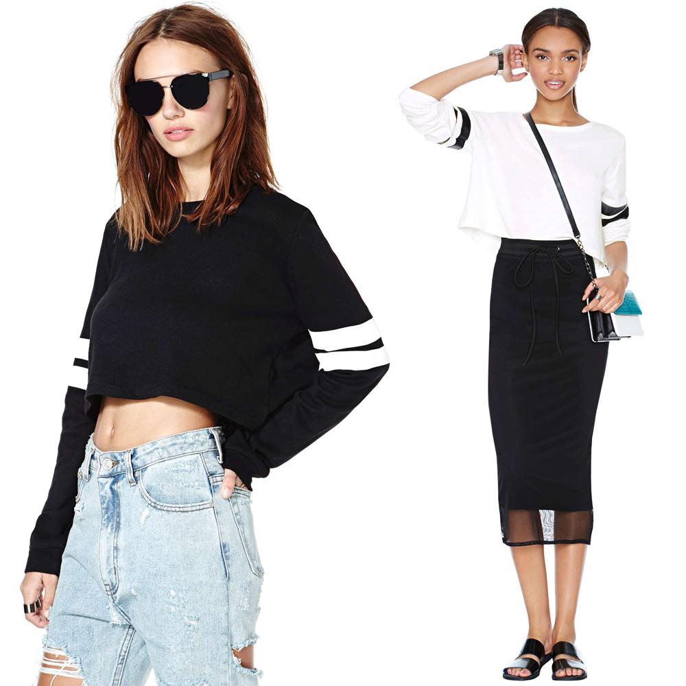 Женские толстовки и Кофты Brand New  Sweatshirts женские топы и футболки brand new 40356