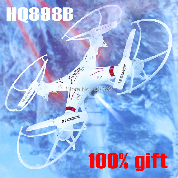 UAV HQ898B RC drones with HD camera WIFI FPV Real time transmission 2 4G 4CH quadcopter