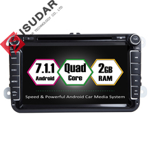 Buy Android 7.1.1 2 Din 8 Inch Car DVD Player VW/Volkswagen/Passat/POLO/GOLF/Skoda/Seat/Leon 2GB RAM WIFI GPS Navigation Radio for $298.60 in AliExpress store