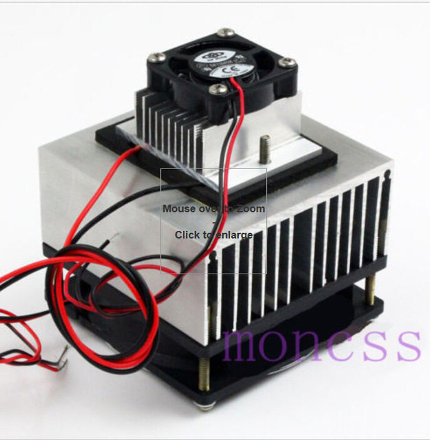 1pcs Thermoelectric Peltier Refrigeration Cooling System Kit Cooler for DIY TEC-12706 mini air conditioner J10-001(China (Mainland))