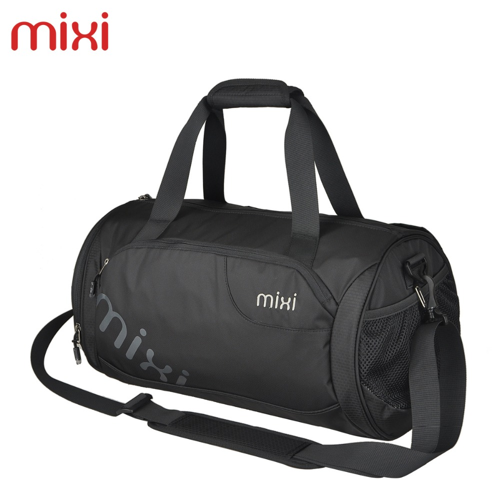Mixi 3 Colors Fashion Sports Bag Handbag for Men Women Large Capacity 21L 28L Men's Shoulder Bag with Single String Travel Bag(China (Mainland))