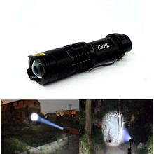 Linterna Lanterna LED high power Mini Flashlight  2000 Lumens Zoomable Lights LED Torch zaklamp Searchlight Flash bike Light(China (Mainland))