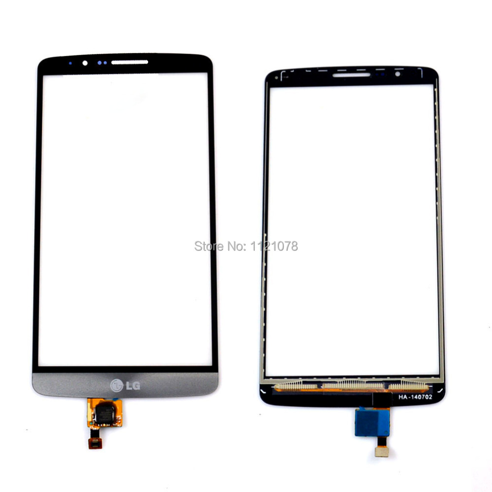 Touch Screen Digitizer For LG G3 D850 D855 ,Free Shipping !Grey Color