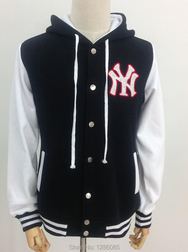 Free Shipping 2015 New Fashion Baseball Jacket Men's Long-Sleeve Hoodies College Style Autumn Cardigans Coats Plus Size M-XXL(China (Mainland))