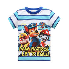 2016 Summer Style Fashion Cartoon cotton Children T Shirts For Kids  baby boys girls Casual Short Sleeve Children tops clothing