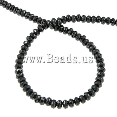 Free shipping!!!Non-Manet Hematite Beads,2013 Brand, Rond, black, A, 6x4mm, Hole:prox 1.5mm, Lenth:15.5 Inch, 10Strands/Lot<br><br>Aliexpress