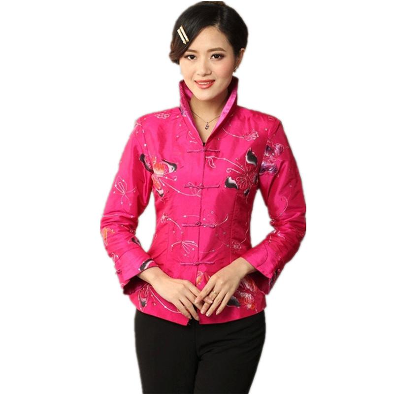 achetez en gros chinois femmes veste en soie en ligne des grossistes chinois femmes veste en. Black Bedroom Furniture Sets. Home Design Ideas