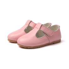 14-22cm Spring autumn Girls Princess shoes new fashion 100% Genuine Leather shoes for girls solid kids leather shoes(China (Mainland))