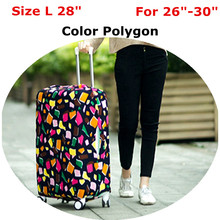 Travel Luggage Suitcase Protective Cover Stretch Apply to 18 20 22 24 26 28 30inch Cases With 6 Colors Optional Plenty In Stock(China (Mainland))