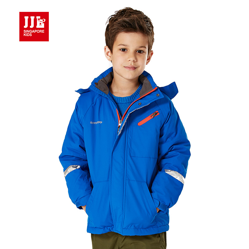 boys coat winter outerwear coat kids sport outdoor clothes windproof children causal jacket winter jacket boys outerwear 8-17y(China (Mainland))