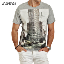 Buy E-BAIHUI Brand t shirt mens t shirts t shirt casual tops tees Fitness Men cotton T-shirts Camisetas Swag t shirt Y050 for $7.14 in AliExpress store