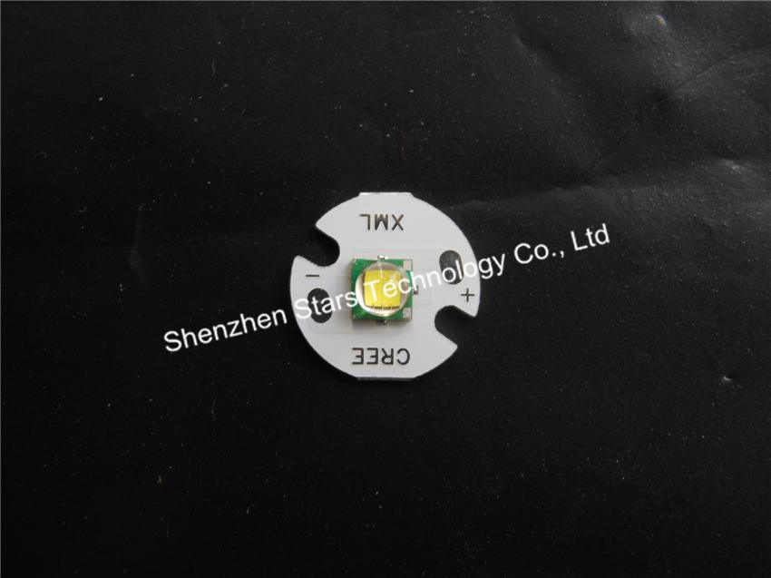 Super birght! 16mm Board CREE XML T6 LED Emitter/Bulb For Flashlight DIY 20pcs/lot<br><br>Aliexpress
