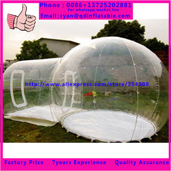 Fashion cheap pvc camping tent inflatable bubble tent transparent(China (Mainland))