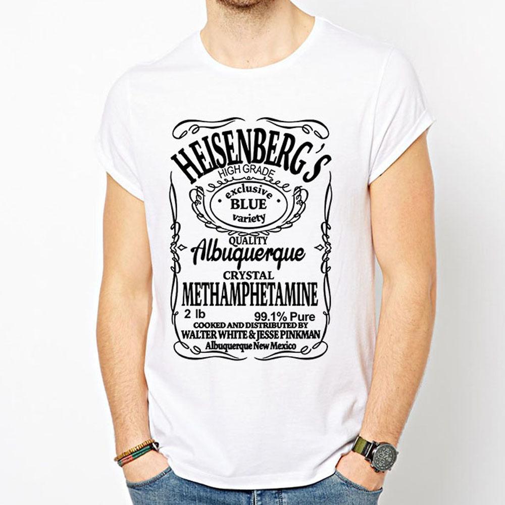 Free Shipping Breaking Bad Men T Shirts Beatles T Shirt
