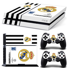 Football Team futbol PS4 Skin Sticker For Sony Playstation 4 PS4 Console protection pegatinas and Cover Decals Of 2 Controller