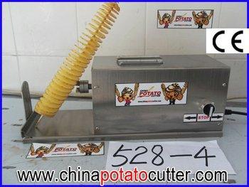 cheap 110v 220v potato spiral cutter Pakistan  potatoe curly cutter machine canada potato twister machines australia
