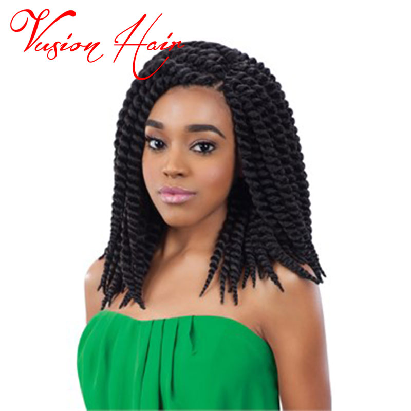 Mambo Twist Crochet Braids Expression 12 Inch Faux Locs Crochet Hair ...
