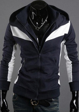Winter&Autumn Fashion Brand Hoodies Men Casual Sportswear Male Hoody Zipper Long Sleeve Sweatshirt Jacket Plus Size WT129