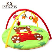 Bear Baby Toy Baby Play Mat 0-1 Year Game Tapete Infantil Educational Crawling Mat Play Gym Cartoon Blanket Puzzle Carpet HK870(China (Mainland))