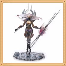 LOL The Will of the Blades Irelia Action Figure LOL Irelia Doll PVC ACGN figure Garage Kit Brinquedos Anime 23CM