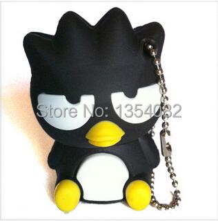 Cool! Kawaii Cute Black Penguin 2GB 4GB 8GB 16GB 32GB USB 2.0 Flash Memory Stick Drive Pen U(China (Mainland))