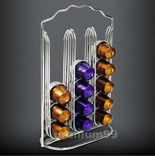 Nespresso Coffee Capsule Metal Holder Rack Stand For Store 30 Capsules FREE SHIPPING