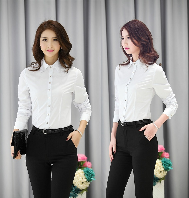Uniform Style Business Women Pantsuits Tops And Pants Office Ladies Trousers Clothing Sets ...