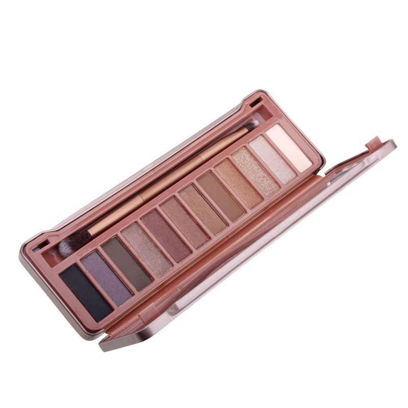 New 12 colors Professional Makeup Eyeshadow naked Palette 1 2 3 4 ,  cosmetic eye shadow case. Make up Set