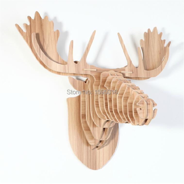 Grou00dfe rentierkopf, deer moose wandbehu00e4nge, Europu00e4ischen Nordic ...
