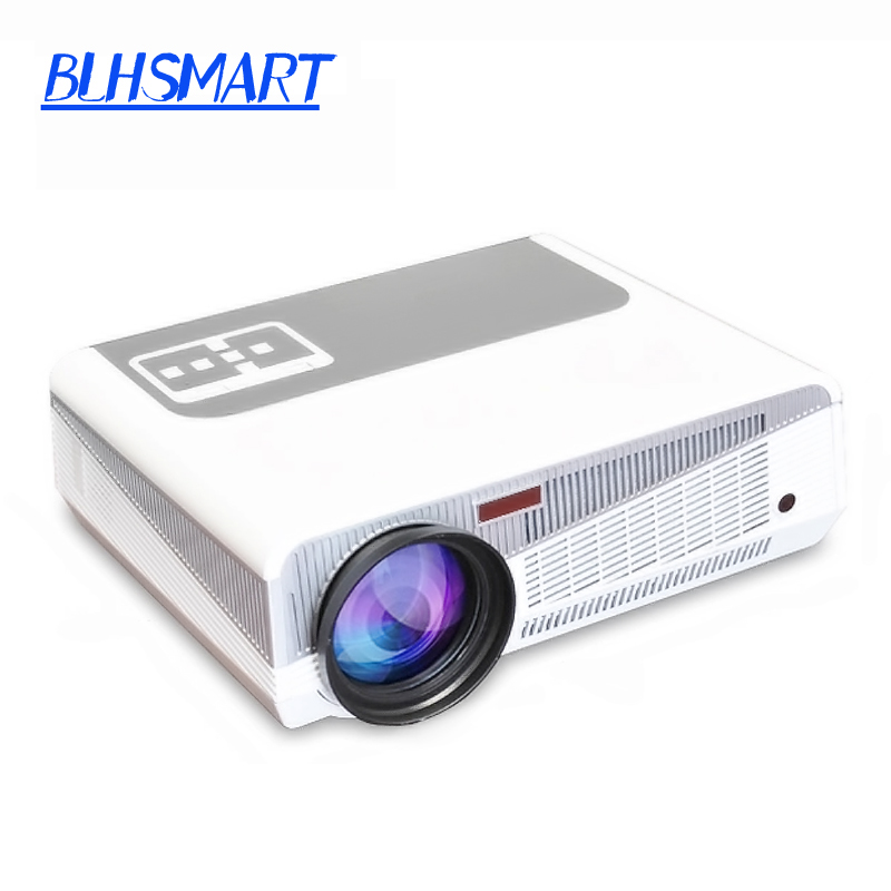 Android 4.4 wifi 5500Lumens 1080P 200W lamp WiFi Smart led 3d home theater projector projektor Full HD Portable Video TV Beamer