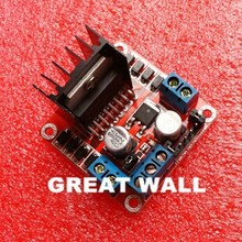 1PCS New Dual H Bridge DC Stepper Motor Drive Controller Board Module L298N for arduino(China (Mainland))