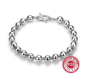 925 sterling Silver Bracelet bracelet 925 sterling silver Fashion bracelet Jewelry trendy women charm bracelets