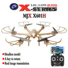 MJX X601H 2.4G RC Quadcopter 6-axis With FPV 720P HD Camera Altitude Hold Mode Headless RC Quadcopter RTF Phone WiFi APP control(China (Mainland))