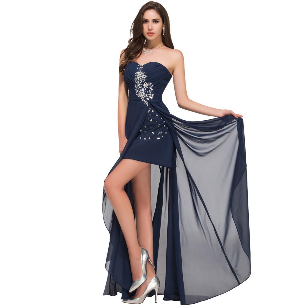 Grace Karin Evening Dress Short Front Long Back - Wedding Dresses