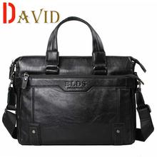 Деловая сумка мужчин сумки 2016 человек из натуральной кожи сумка сумки известный бренд кенгуру 14-inch сумки для ноутбуков портфель A2G72