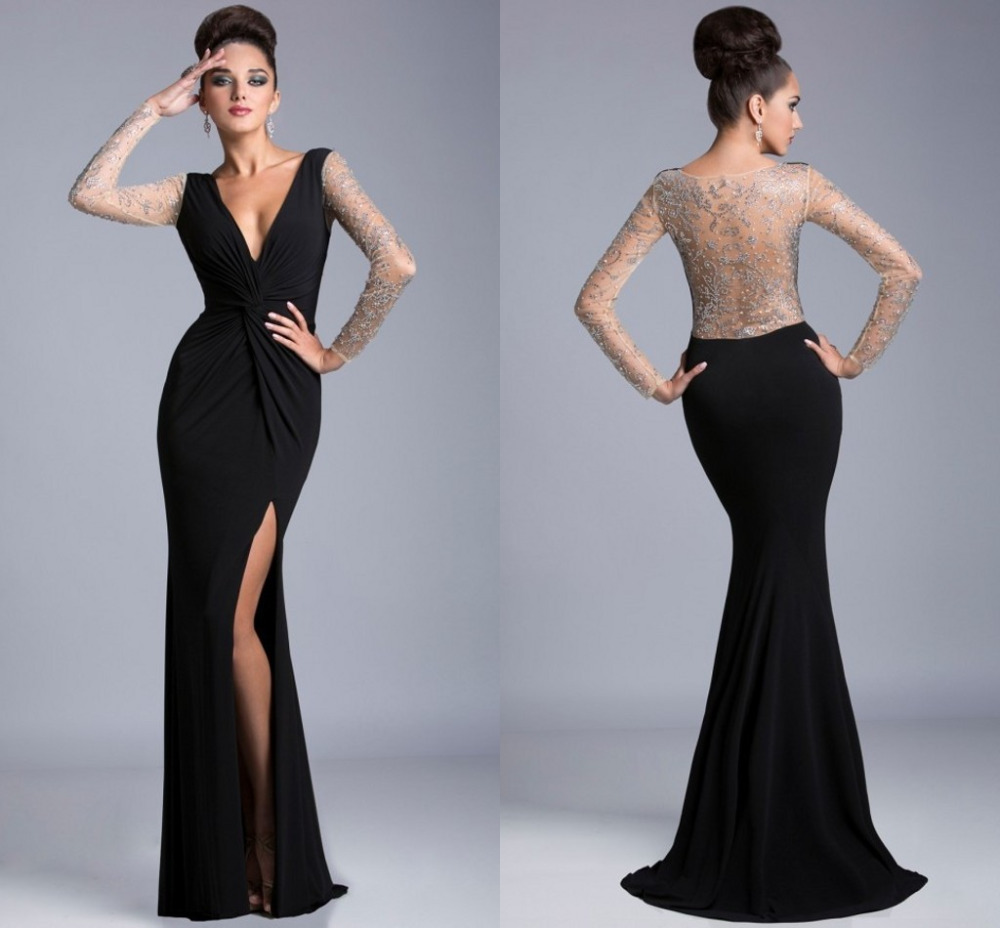 Long Elegant Prom Dresses Cocktail Dresses 2016