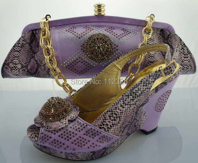 Evening dress Shoe and bag matching set,. African Ladies ...