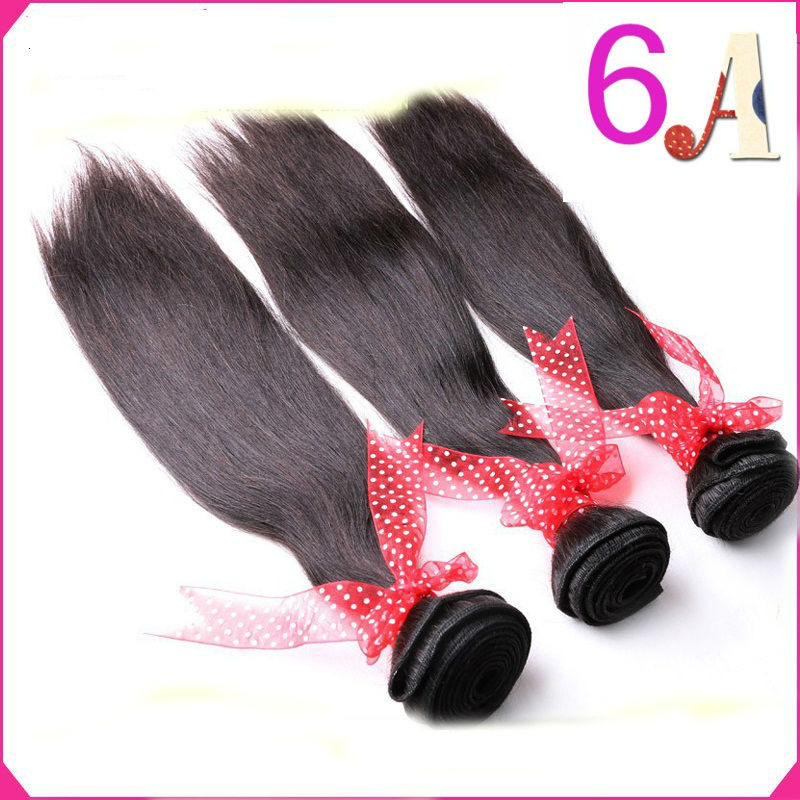 Best Selling 3Pcs/Lot Brazilian Hair Straight Remy Hair Extensions  Queen Hair Products Brazilian Hair Weave Bundles