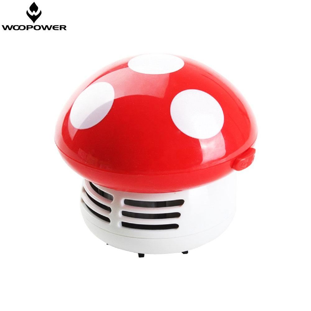 woopower Multi-color Mushroom desktop vacuum cleaner,Handheld Mini Mushroom Vacuum Cleaner for Car/laptops/keyboard Dust Sweeper(China (Mainland))