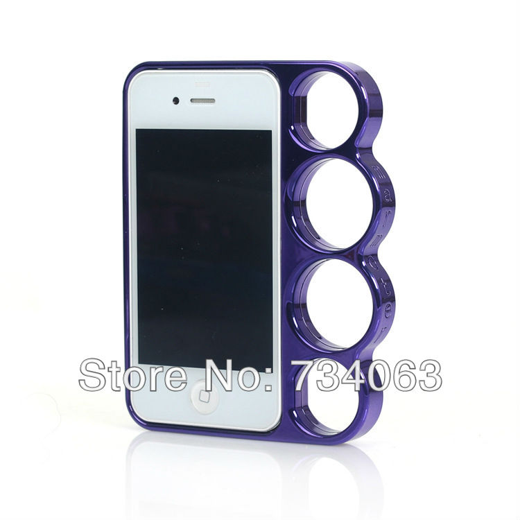 Fashion Creative Finger Rings Case with Marmoter Electroplating PC Bumper for Apple iphone4 4s i Phone iPhone 4 MOQ:10 (PGTNZ)(China (Mainland))