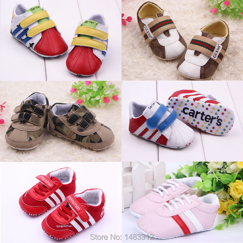 Newborn baby girl shoes soft sole toddler boys shoes branded fashion infant leather baby moccasins first walker boy sapatos(China (Mainland))
