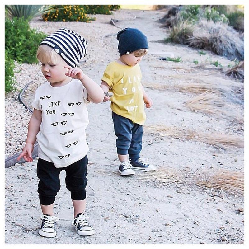 Bobo Choses  Children T Shirts Kids 2015 Boys Girls Fashion Eye Print Cotton Short Sleeve Tees And Tops Summer Clothing 2015<br><br>Aliexpress