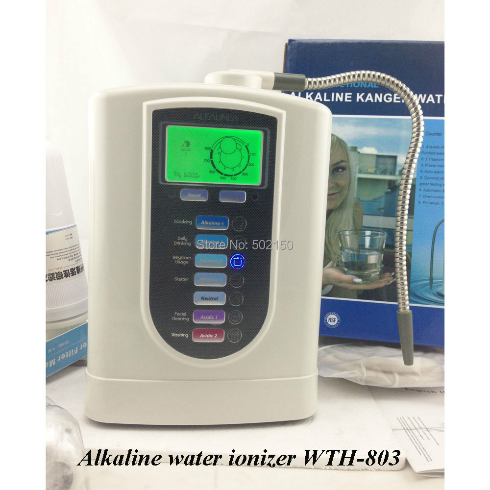 Alkaline water machine CE alkaline water ionizer WTH-803(China (Mainland))