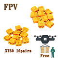 2016 Direct Selling New Value 2 Fpv Camera Hsp Brushless 10 Pairs Xt60 Connector Plug Male
