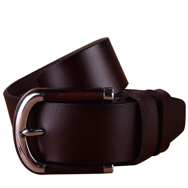 There is a % satisfaction guarantee on these belts. These leather belts make great gifts for men, whether friends, family, or yourself! All of our top quality belts are made in America, using quality American tanned leather. Quality made, using quality leather, equals a great belt.