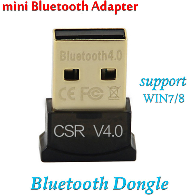 100PCS/LOT super Stability Bluetooth V4.0 Dongle 20-50 Receiving/Sending range MINI Bluetooth USB adapter with dual antenna(China (Mainland))