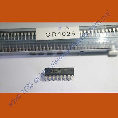 NEW 10 x CD4026 4026 IC CMOS Counters Decade/Divider(China (Mainland))