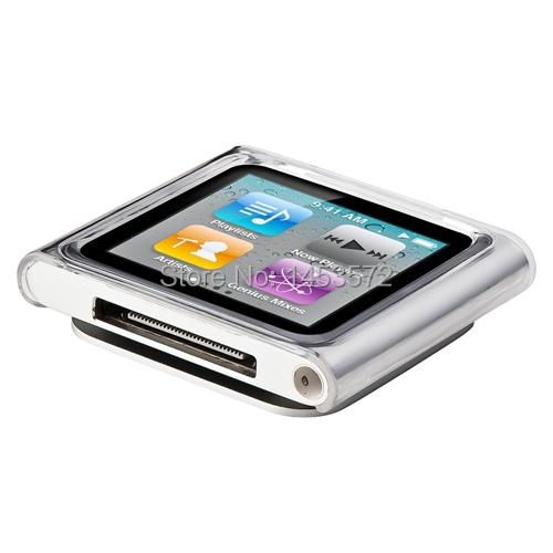 CLEAR CRYSTAL HARD SHELL SKIN CASE COVER FOR iPod NANO 6 6th Gen 8GB 16GB(China (Mainland))
